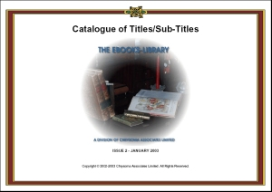 Titles/Subtitles Catalogue