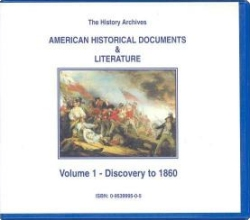 American Historical Documents and Literature Vol 1